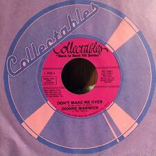 Dionne Warwick - Don't Make Me Over / Reach Out For Me EX VINYL 7""