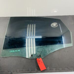 2005-2011 Audi A6 S-Line Driver Left Rear Door Window Glass OEM