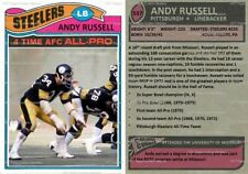 Andy Russell Pittsburgh Steelers Custom Card