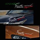 1PC JDM Sports Mind Auto Car Window Headlight Eyebrow Body Vinyl Decal Sticker