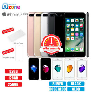 New Factory Unlocked APPLE iPhone 7+Plus 32GB 128GB 256GB 1Yr Warranty Colours