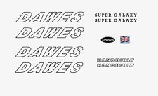 Dawes Super Galaxy Bicycle Decals-Transfers-Stickers n.11