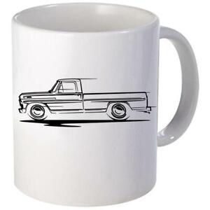 1967-72 Ford F100 Pickup Truck Redline Design Coffee Mug 11oz 15 oz Ceramic NEW
