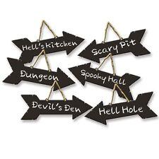 Halloween Direction Letreros Tiza Tipo Fantasía Decoración para Fiestas