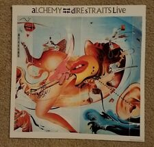 "Dire Straits Live Alchemy US 12"" x 12"" promo flat 1 sided EX Condition D"
