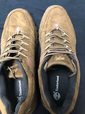 Timberland Brown Suede Leather Walking Hiking Low Top Shoes Men's Size 12.5