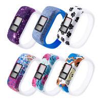 KQ_ TH_ For Garmin Vivofit JR JR2 Vivofit 3 Replacement Silicone Wrist Watch Ban