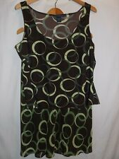 Venezia 2 PC Skirt Suit Circular Design  Ladies Size 18/20