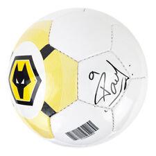 Signed Raul Jimenez Football - Wolves FC Autograph +COA
