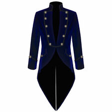 Men's Velvet VLADIMIR TUXEDO Jacket Tail coat Goth Steampunk Victorian