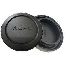 Rear Lens Cover + Camera body Cap fit for Panasonic Lumix DMC-GF1 Micro 4/3 M4/3