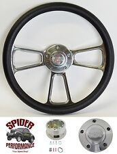 "1967-1968 Chevy 2 Nova steering wheel SS 13 3/4""  POLISHED BILLET"