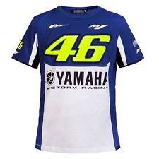 Valentino Rossi VR46 M1 Yamaha Factory Racing Royal Blue 46 MotoGP T-Shirt