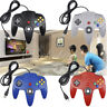 Classic 64 N64 USB Controller Gamepad Retrolink Wired for PC MAC Computer Black