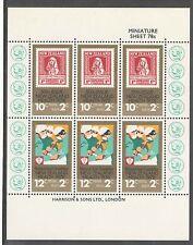 New Zealand 1978 Health MS Scarce Printing UMM/MNH  CP TM50