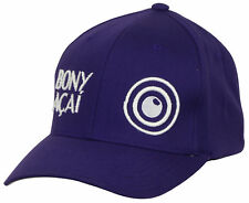 Bony Acai Flex Fit Hat (Purple/White) Size: S/M