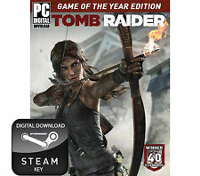 TOMB RAIDER GAME OF THE YEAR EDITION GOTY PC, MAC AND LINUX STEAM KEY