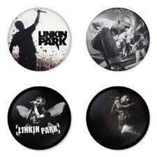 Linkin Park, F - 4 chapas, pin, badge, button