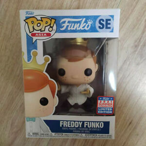 Funko Pop Freddy Funko Kung Fu China Summer Exclusive with Box in Hand