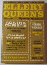 ELLERY QUEEN MYSTERY MAGAZINE JUNE 1964 CORNELL WOOLRICH S J PERELMAN