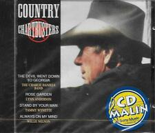 CD 16 TITRES COUNTRY CHARTBUSTERS LYNN ANDERSON/PARTON/SCRUGGS/TANYA TUCKER NEUF
