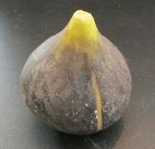 Vintage Italian Alabaster Stone Fruit - Purple Fig