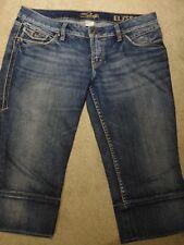 Silver Jeans Elyssa Capri Women's Jeans Size 31