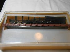 HO TRAIN TRAIN MINIATURE 42' RAIL & TIE CAR GREAT NORTHERN GN NEW IN CASE!