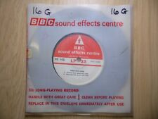 "BBC Sound Effects 7"" Record - Demolition Work, Crash of Bricks, Roar of Debris"