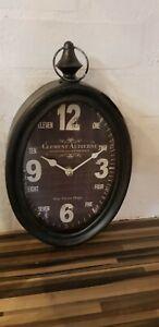 Wall Anolog Clock - Retro, Vintage (ZG0093)