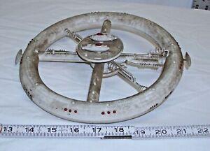 STAR PROBE SPACE BASE STATION MODEL KIT BUILT UP LINDBERG 1148 1976