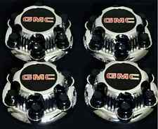 "GMC SIERRA YUKON SAVANA 6 LUGS 1500 CHROME CENTER CAP HUB 16"" 17"" WHEEL 4 x PCs"