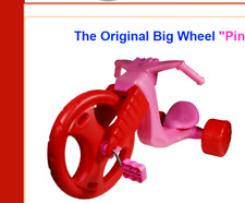 "Trike The Original Big Wheel ""Pink Pedal Master"" 16"" Trike. Original Big Wheel"