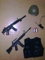 Ultimate Soldier 12 inch 1/6 action figure  swat helmet n accessoried