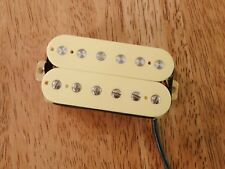 VINTAGE OUTPUT BRIDGE HUMBUCKER PICKUP CREAM ALNICO 2 MAGNET FOUR CONDUCTOR WIRE