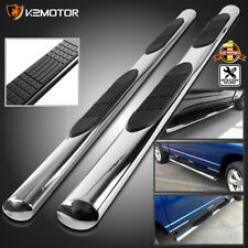 "4"" Oval Quad Cab 2009-2018 Dodge Ram 1500 Side Step Bars Nerf Running Boards 2PC"