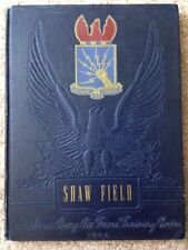 1942 SHAW FIELD ARMY AIR CORPS BASIC FLYING SCHOOL YEARBOOK, SUMTER, SC, WWII