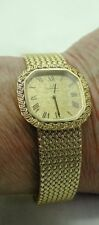 Ladies Beautiful Solid 18ct Gold OMEGA Bracelet Watch (Small Wrist Size 165mm)