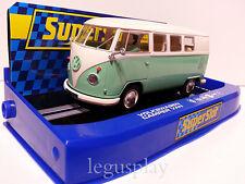 """Slot SCX Scalextric Superslot H3760 Volkswagen Camper Van """"Green / Beige"""""""