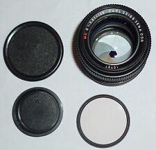 CARL ZEISS JENA MC S (SONNAR) 135MM F3.5 LENS + photax 1b filter