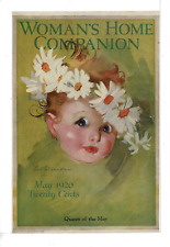 MAY 1920 WOMAN'S HOME COMPANION QUEEN OF THE MAY LUCILE P MARSH AD PRINT I757
