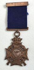 Vintage British Mediterranean Fleet Rifle Meeting Medal