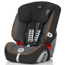 Car Seat Group 1/2/3 (9-36 Kg) Evolva 123 Plus Black Marble Britax