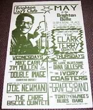 DANA GILLESPIE GROUNDHOGS McPHEE STUNNING CONCERTS POSTER MAY 1982 BRIGHTON UK