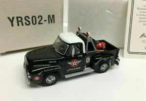 Matchbox 1953 Ford F100 Pickup Tow Truck Flying A Tire Service YRS02-M  1:43