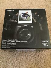 Fujifilm Instax Square SQ20 Hybrid Instant Camera Black Brand New
