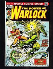 Warlock #8 ~ 1972, vs The Arch Demon (9.2) WH
