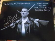LOCK STOCK and TWO SMOKING BARRELS personally signed 14x11 - VINNIE JONES