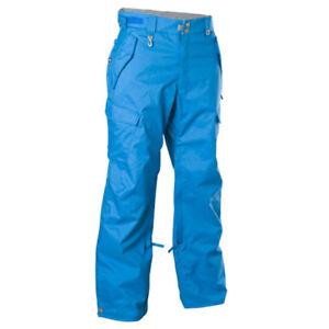 NEW 686 CONTINUUM SNOW PANTS Men's M-L-XL Ski Snowboard $235 Black/Blue/Green