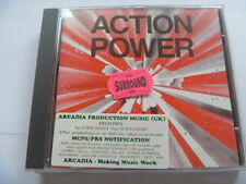 ACTION POWER ARCADIA RARE LIBRARY SOUNDS MUSIC CD